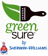 Sherwin Williams Green Sure Logo