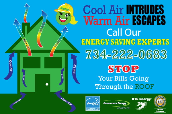 Energy Saving Home Improvements in Michigan Ms Green
